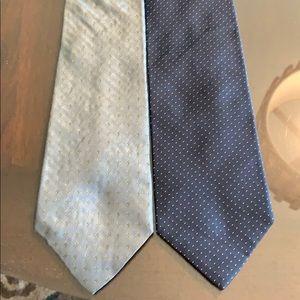 J.Crew set of 2 men's neck ties